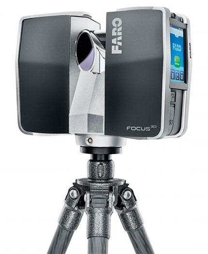 scanner 3d faro